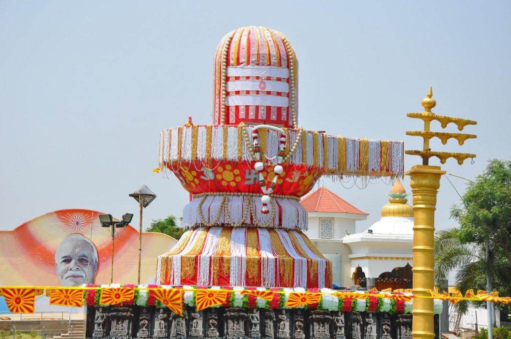 Gulbarga - Maha Shivratri Celebration - Photographs of Shivlingas